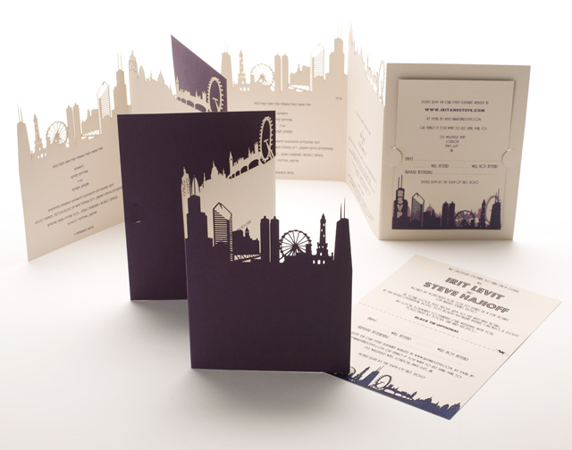 chicago engagement wedding photos on pinterest chicago With laser cut wedding invitations chicago