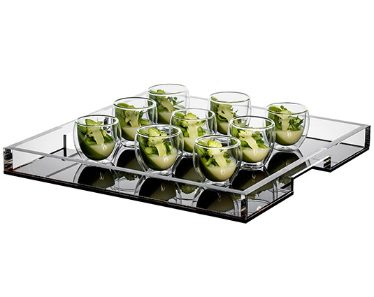 Display for Canape trays