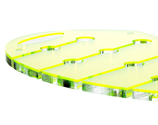 Canap tray for Perspex canape trays