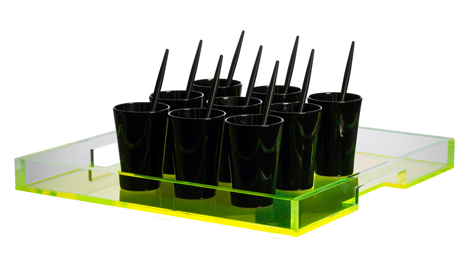 Square canap tray for Canape platters