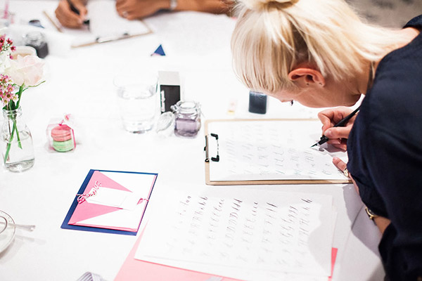 Calligraphy classes at cutture Cutture