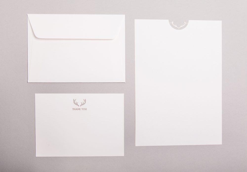 Cutture Dapper Deer Writing Paper