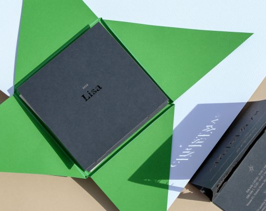 Couture Sustainable Invitation