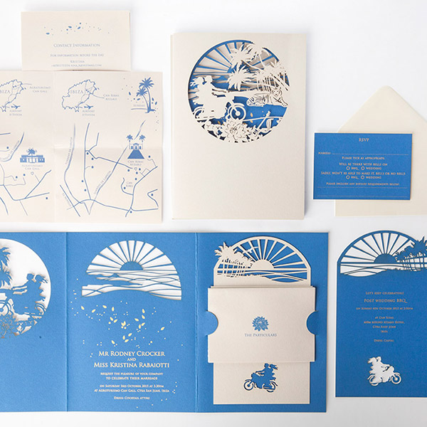 Wedding Stationery - The particulars Cutture